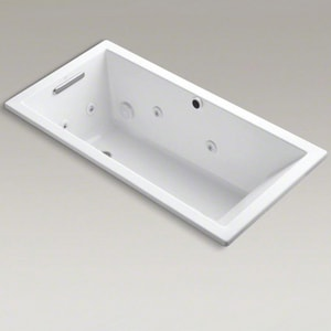 Kohler Underscore® 60 x 34 in. Tub and Shower in White K1167-H2-0