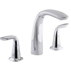 Kohler Refinia® Bath Faucet Trim with High Arch Diverter Spout and Lever Handle (Less Valve) KT5324-4