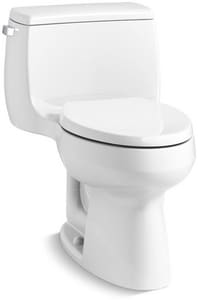 Kohler Gabrielle™ 1-Piece Elongated Toilet with Left Hand Trip Lever Handle K3615