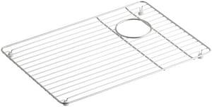 Kohler Riverby™ Single Basin Rack in Stainless Steel K6238-ST