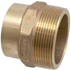 Elkhart Products Corporation FTG x Male Brass Adapter CCDWVFMA