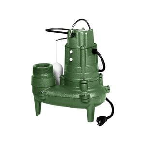 Zoeller Waste Mate 128 gpm Automatic Sewage Pump Z2680001