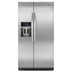 Kitchenaid Architect® 26 CF Standard Depth Side-by-Side Refrigerator KKSF26C6XYY