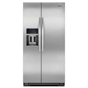 Kitchenaid Architect® 24 CF Side-by-Side Refrigerator With Dispenser KKSC24C8EYY