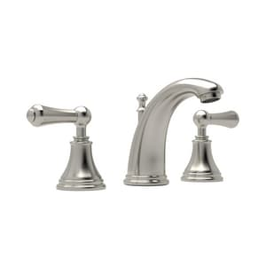Rohl Perrin & Rowe® 1.2 gpm 3 Handle High Widespread Lavatory Faucet RU3712LS