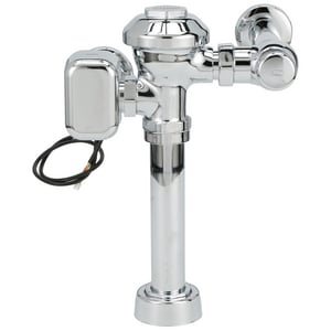 Zurn AquaSense® 1.28 gpf Hardwired Closet Flush Valve in Polished Chrome ZZEMS6000AVHET