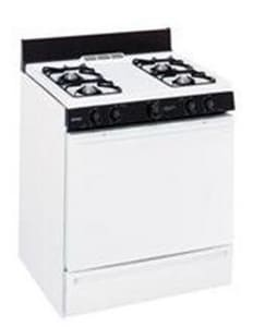 General Electric Appliances Hotpoint® 30 in. Natural Gas Standard Clean Free Standing Range GRGB508PET