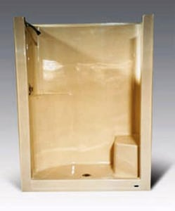 Warm Rain 60 x 36 in. Shower with Right Hand Seat WWR861W