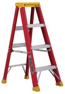 Louisville Ladder 18-13/16 in. Fiberglass Step Ladder LL301604