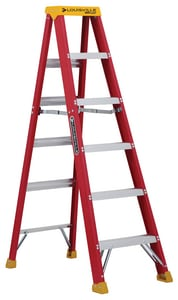 Louisville Ladder 21-13/16 in. Fiberglass Step Ladder LL301606