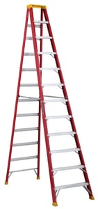 Louisville Ladder 30-13/16 in. Fiberglass Step Ladder LL301612