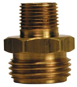 Dixon Valve & Coupling MPT x Male GHT Brass Adapter DBA