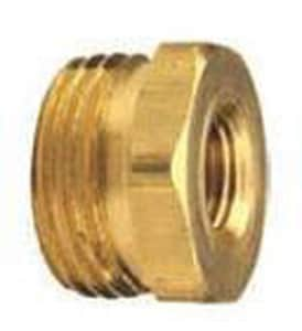 Dixon Valve & Coupling FPT x Male GHT Brass Adapter DBA79