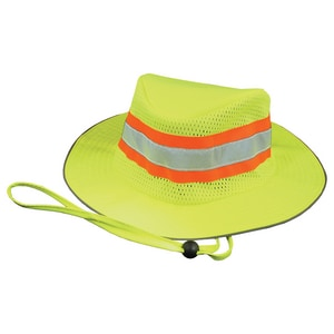 ERB Safety Boonie Hat in Lime E61587