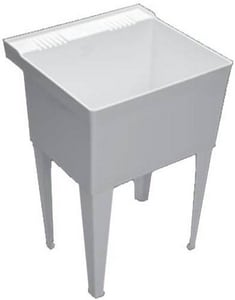 PROFLO® Single Laundry Sink with Legs PFLT2123