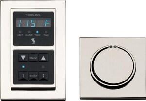 Thermasol Modern Module Control Kit in Satin Nickel TSEMNTSSN