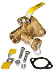FNW Brass Full Port NPT 600# Ball Valve FNW490