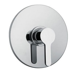 Fortis Brera Single Lever Handle Shower Valve Trim in Polished Chrome F9268700PC