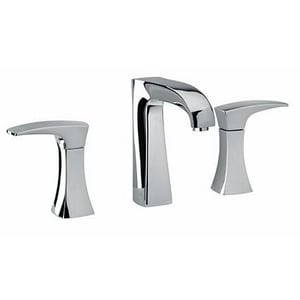 Fortis San Marco 3-Hole Widespread Lavatory Faucet with Double Lever Handle F8921400