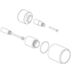 Fortis Thermostat Volume Control Extension Kit for Fortis San, Marco and Brera Diverter Valve FEX69089