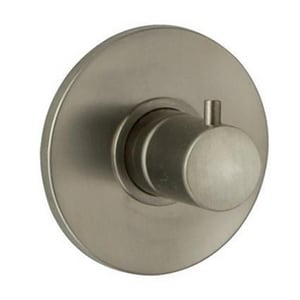Fortis Milano Volume Control Trim Only with Single Knob Handle in Brushed Nickel F7840200BN