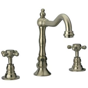 Fortis Caffe 3-Hole Widespread Lavatory Faucet with Double Cross Handle F8821400