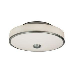 AFX Lighting Transitional 55W 1-Light Semi-Flush Light in Satin Nickel ASHC155SNMVTLA
