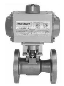 Jamesbury 150 psi Carbon Steel Flanged Full Port Ball Valve J9150312236XTZ1