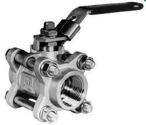 Value-Line® Series 3 Socket Weld Stainless Steel Standard Port Ball Valve J3C2236MT3