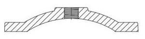 Tyler Union Ductile Iron C110 Blind Flange FBFPC12
