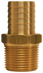 Dixon Valve & Coupling 1/4 in. Hose Barb x MIP Brass Insert DBN22