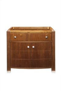 DECOLAV® Adrianna 36-1/4 in. Wood Vanity Cabinet with Curved Front Doors and Drawer D5249