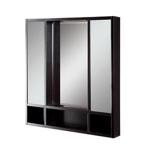 Deco Lav Tyson 30 in. Double Door Framed Medicine Cabient D9713
