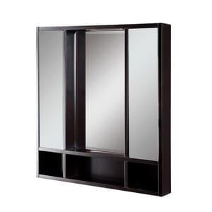 DECOLAV® Tyson 30 in. Double Door Framed Medicine Cabient Espresso D9713ESP