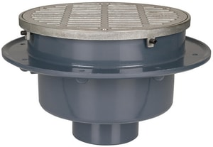 Sioux Chief PVC Round Flare Sink S8604PZW