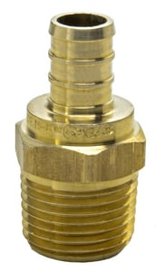 Sioux Chief PEX x MPT Brass Adapter S646XG23