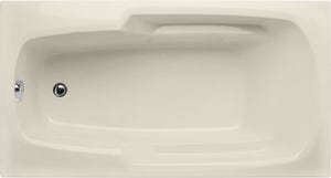 Hydro Systems Solo 66 x 34 in. Rectangle Whirlpool Bathtub with Thermal Air System and Left Hand Drain HSOL6634ATA