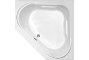Hydro Systems Clarissa 55 x 55 in. Corner Whirlpool Bathtub with Rear Drain HCLA5555ATA