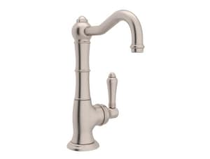 Rohl Country Kitchen 1-Hole Kitchen Faucet with Single Metal Lever Handle RA3650LM2