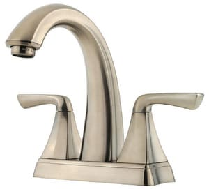 Pfister Selia™ Centerset Lavatory Faucet with Double Lever Handle PF048SL