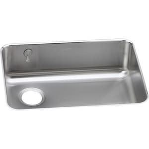 Elkay Harmony™ 25 x 18-3/4 in. Single Bowl Under-Mount Sink with eDock Hook and Left Drain EELUH2317LEK
