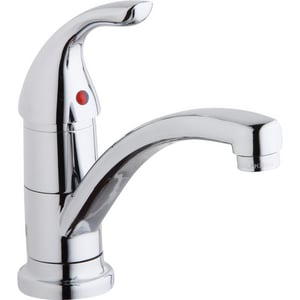 Elkay Everyday 1-Hole Deckmount Kitchen Faucet with Single Lever Handle ELK1500CR