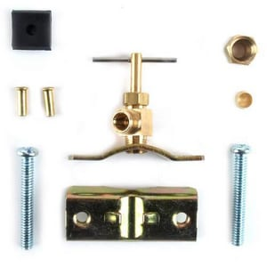 PROFLO® Brass Self Piercing Needle Valve Kit PFXNV200