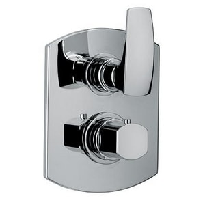 Fortis San Marco Thermostatic Valve Trim with Single Knob or Lever Handle F8969000