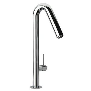 Fortis 1-Hole Kitchen Faucet with Single Lever Handle and Angled Spout F7859300