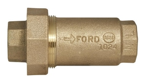 Ford Meter Box FIP Straight Dual Check Valve FHHC11333NL