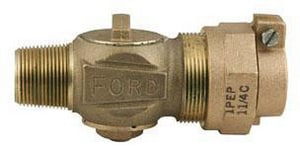 Ford Meter Box 1 in. Pack Joint Ball Corporation Stop Valve FF10014NL