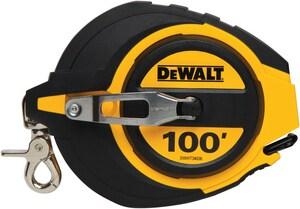 DEWALT 100 ft. Closed Case Long Tape DDWHT34036