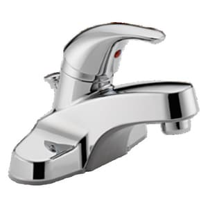 Delta Faucet 3-Hole Deckmount Lavatory Faucet with Single Lever Handle PP136LF
