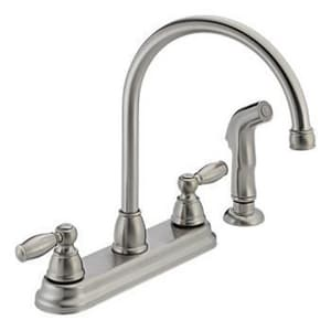 Peerless Faucet 1.8 gpm Kitchen Faucet with Double Lever Handle PP299575LF
